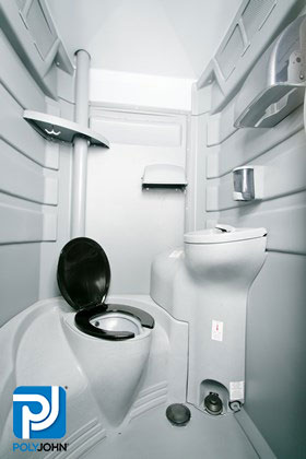 Portable Toilet Rentals - Fleet Interior View - Portable Restroom, Restroom Trailers, Showers & Sinks, Dumpster Rentals - Permanent and temporary sites and special events.